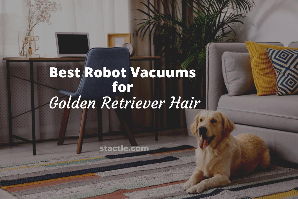 Best Robot Vacuum for Golden Retriever Hair